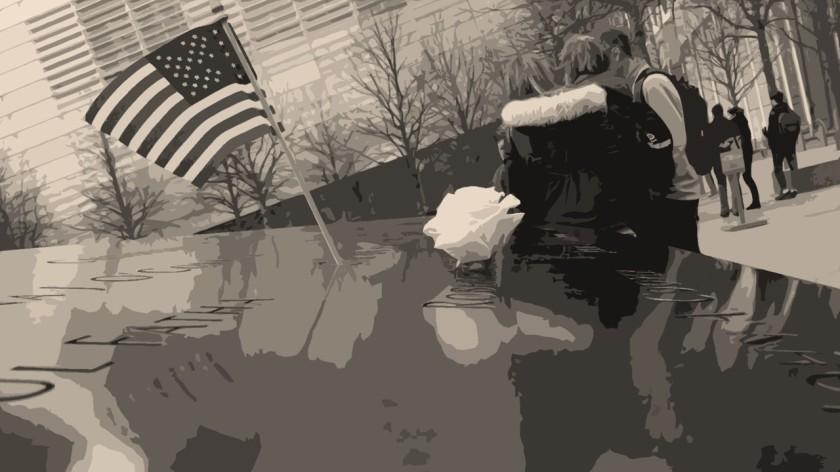 Mémorial du 11 septembre 2001, à New-York (cl. J. Halais).